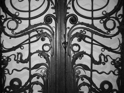 1380 renwick Portal Gates 1974 by Albert Paley ironwork