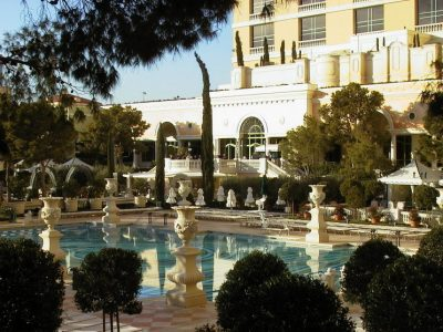 1824 Bellagio pool european landscaping