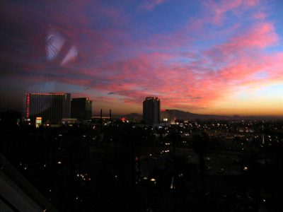 1892 view from my luxor window sunrise (-)