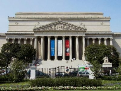 3636 National Archives in summer
