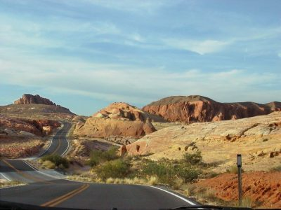 Copy of 5397 valley of the fire rocks & road (+)