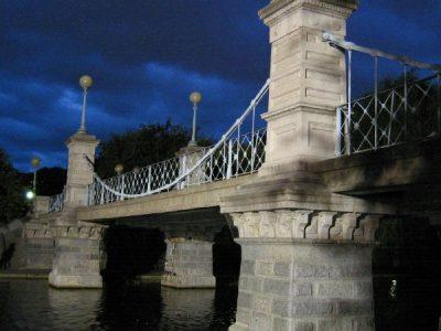 IMG_6887 public gardens (swan) bridge, dusk, dramatic sky (good